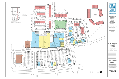 Village Center site plan